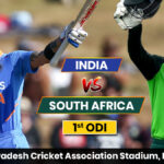 India vs South Africa, 1st ODI